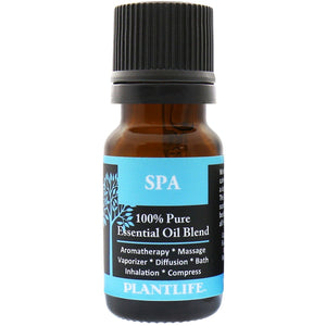 Plantlife Spa Essential Oil Blend (100% Pure Therapeutic Grade) 10ml
