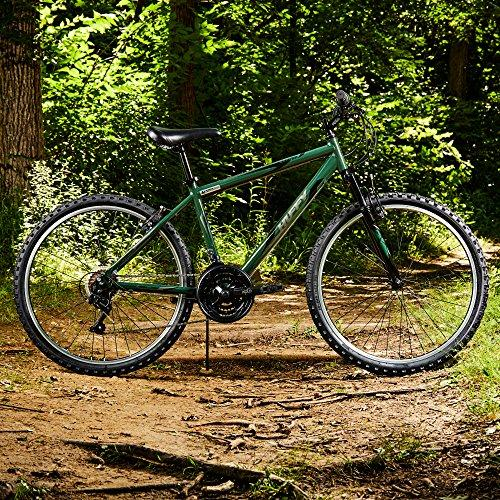 "Huffy 26"" Exxo Mens 21-Speed Hardtail Mountain Bike, Aluminum Frame, Military Green Sport & Recreation Huffy"