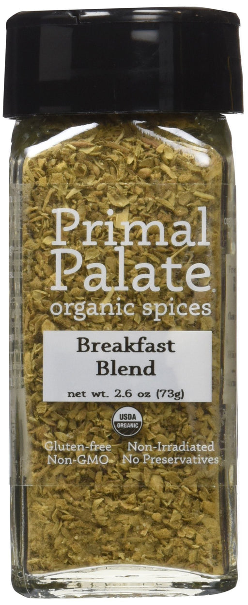 Organic Spices Breakfast Blend, Certified Organic Food & Drink Primal Palate Organic Spices