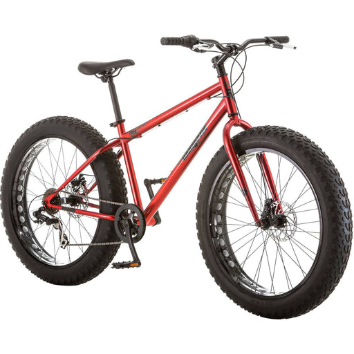 "Mongoose Hitch Men's Fat Tire Bicycle, Red, 26"" Sport & Recreation Mongoose"