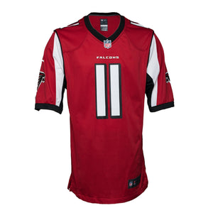 Nike NFL Atlanta Falcons Julio Jones #11 Game Team Jersey Red (2XL)