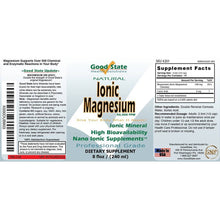 Good State Liquid Ionic Magnesium (96 servings at 100 mg elemental, plus 2 mg fulvic acid - 8 fl oz)