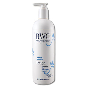 Fragrance Free Hand and Body Lotion 16 oz.