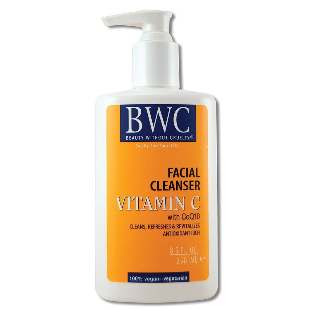 Vitamin C with Coq10 Facial Cleanser 8.5 oz. Cosmetics Beauty Without Cruelty