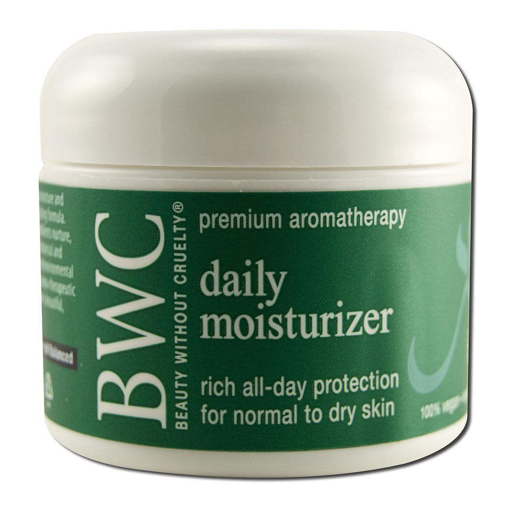 Aromatherapy Skin Care Daily Moisturizer 2 oz. Cosmetics Beauty Without Cruelty