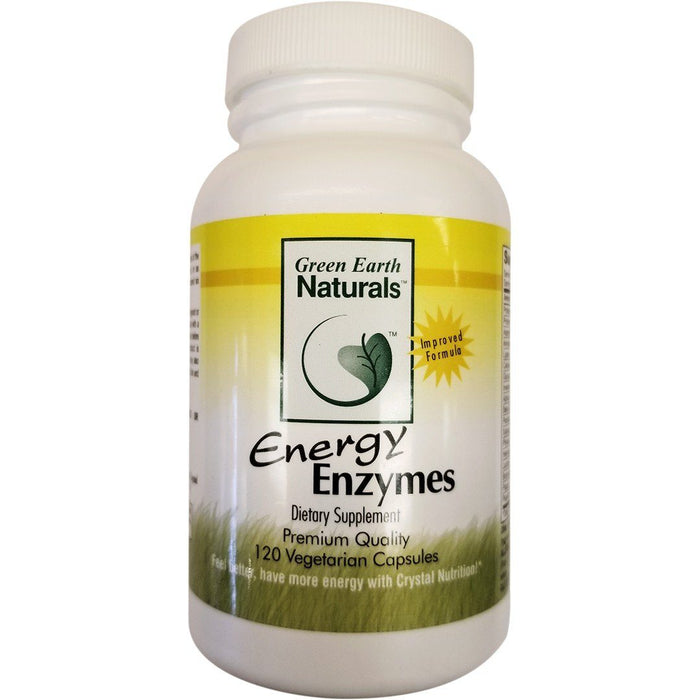 Energy Enzymes Supplement Green Earth Naturals