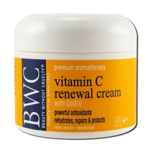 Vitamin C with Coq10 Renewal Moisturizer 2 oz. Cosmetics Beauty Without Cruelty