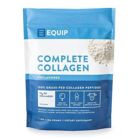 Complete Collagen Supplement Equip Foods