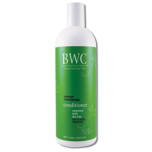 Aromatherapy Hair Care Rosemary and Mint and Tea Tree Conditioner 16 oz. Cosmetics Beauty Without Cruelty