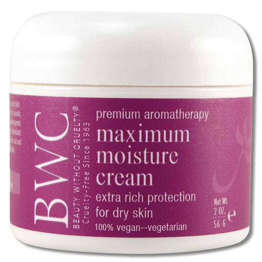 Aromatherapy Skin Care Maximum Moisture Cream 2 oz. Cosmetics Beauty Without Cruelty