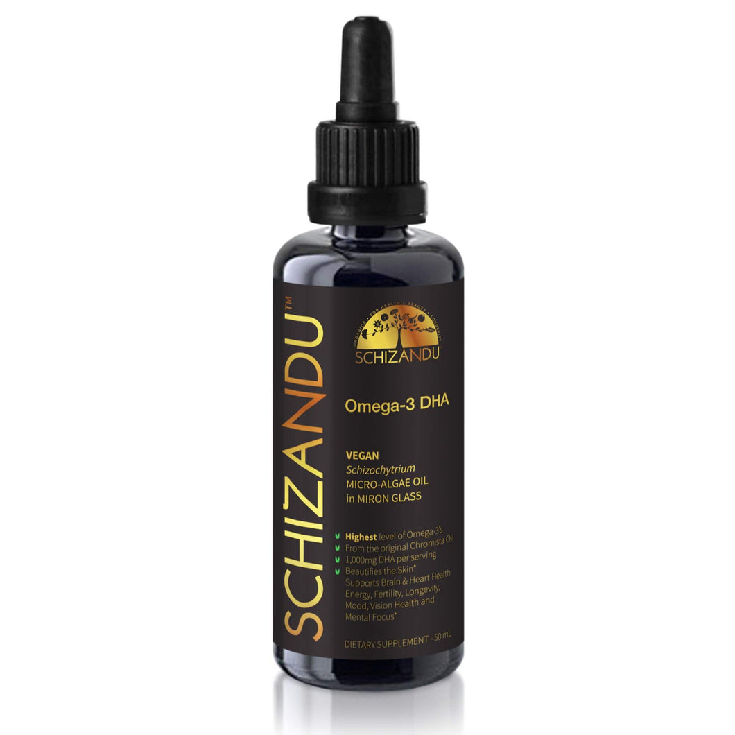 The Most Potent, Purest Algae Oil (Omega-3, Vegan DHA Algal Extract, Unflavoured)