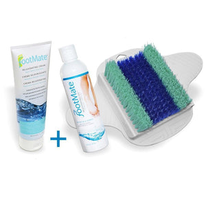 The FootMate® System - White/Teal Bundle