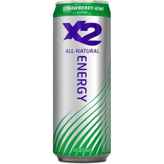 X2 All-Natural Energy Food & Drink X2 All Natural Energy