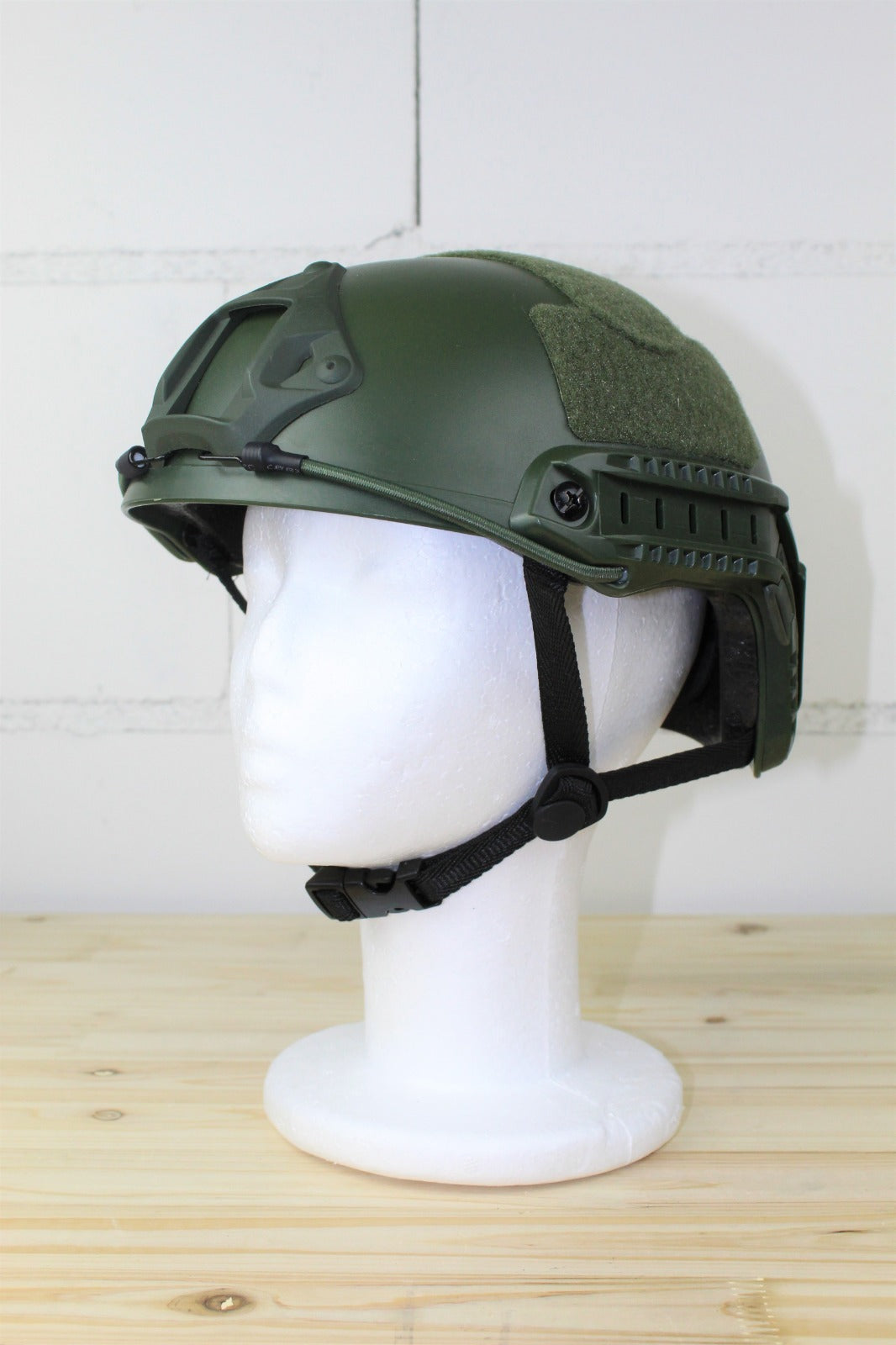 Airsoft Helm FAST Green