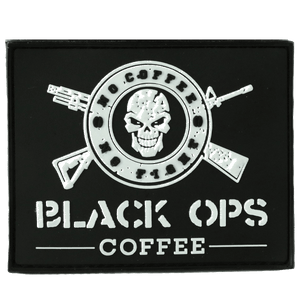 "Black Ops Coffee Patch ""Logo"""