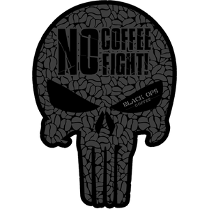 "Black Ops Coffee Patch ""Skull"""