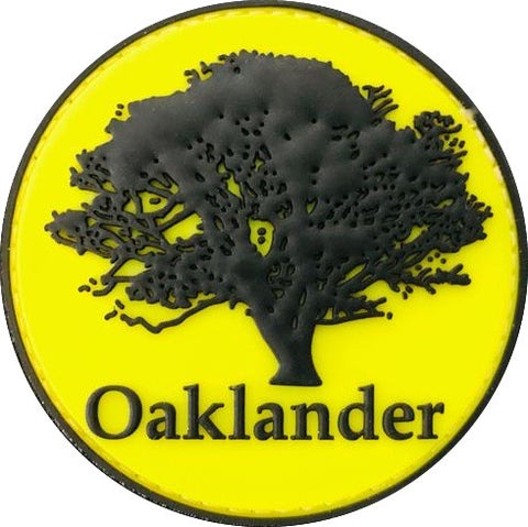 Oaklander 3D Rubber Patch