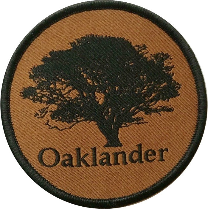 Oaklander Spenden-Patch Stoff/Gewebt Dark Earth