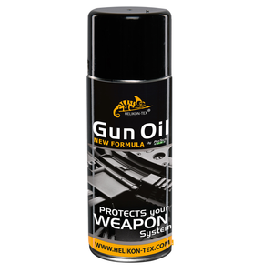 Helikon Tex GUN OIL 400ML (AEROSOL) - BLACK