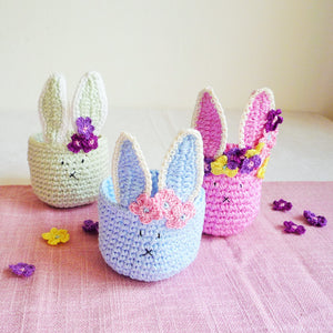 Easter Bunny Basket Pattern