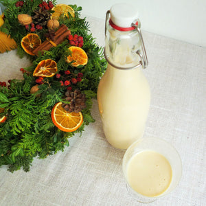 EggNog that needs to sit for a while.