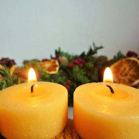 Advent time. The second candle is lit.