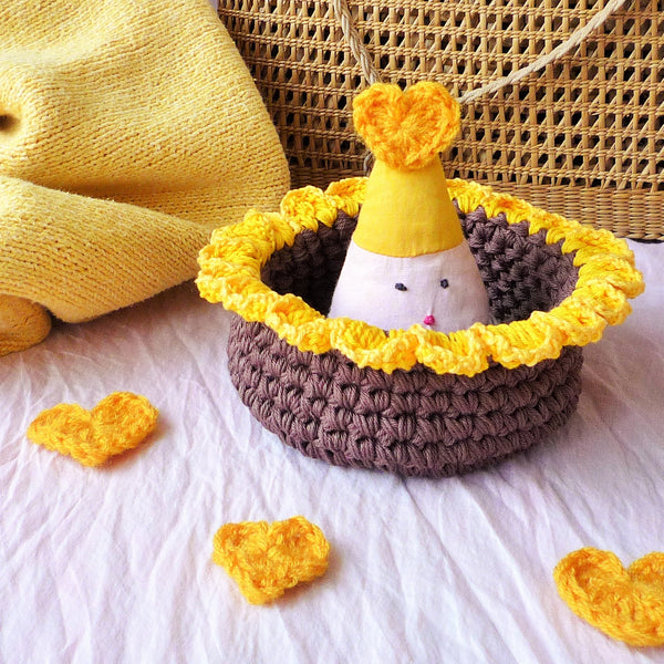 Sunflower Basket - Sunflower Bowl