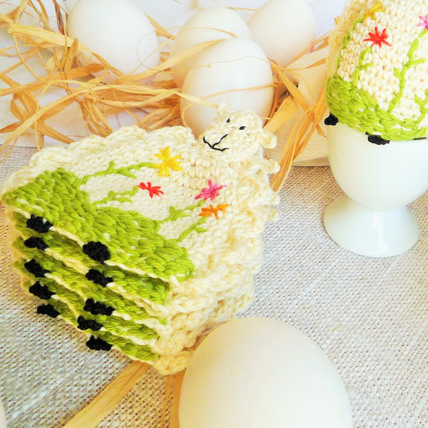 Sheep Egg Cozies MonikaCrochet