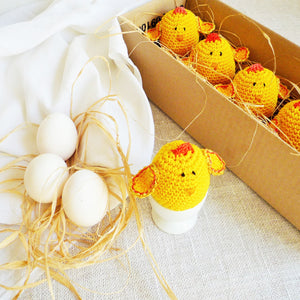 Yellow Chicken Egg Cozy