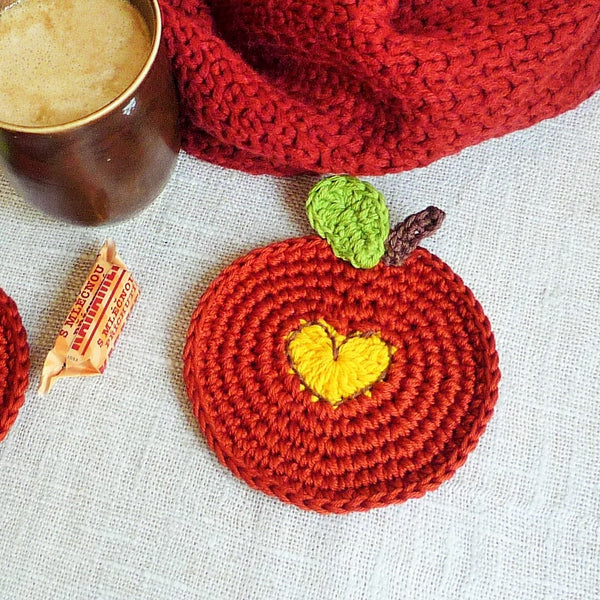 fall round coasters