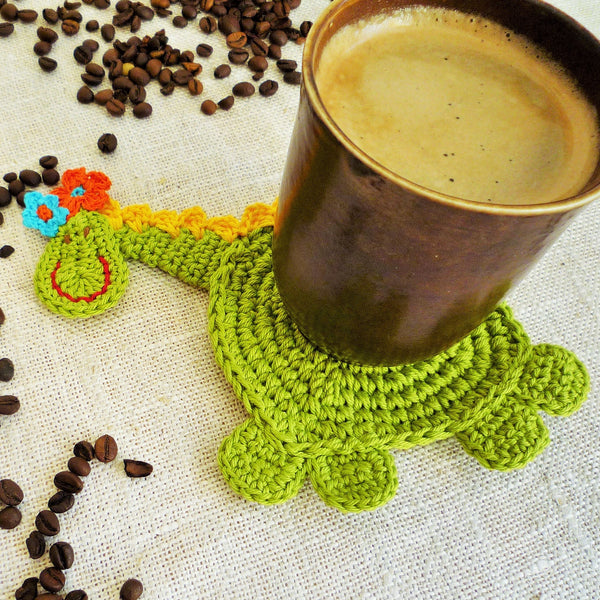 dragon coaster crochet pattern