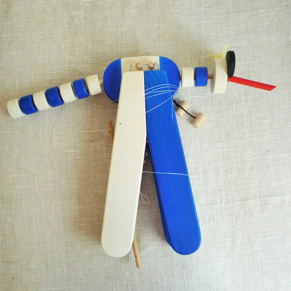 Flying Mosquito Wooden Mobile Toy