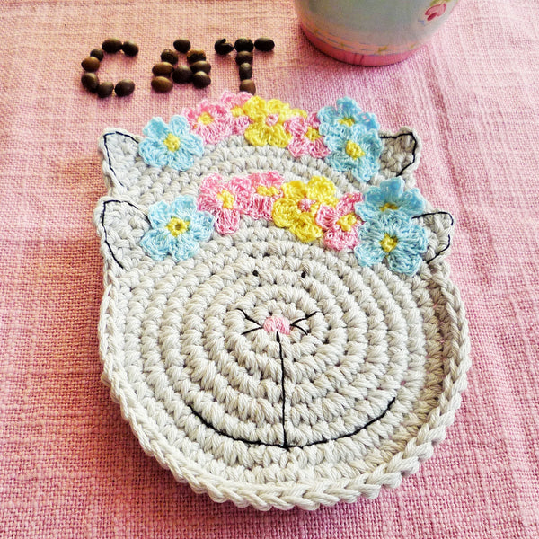 cat head coaster