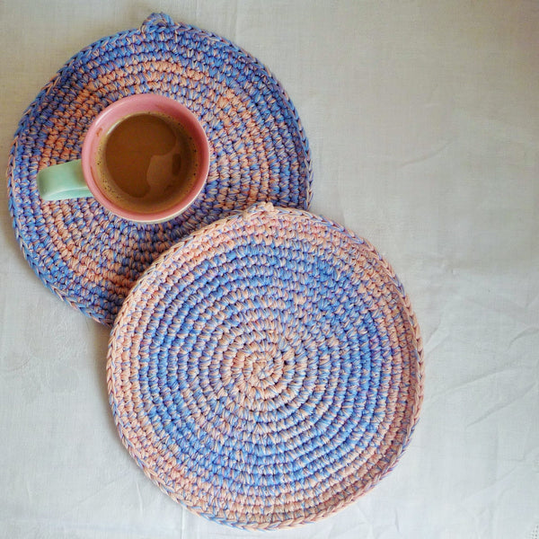 crochet place mat monikacrochet