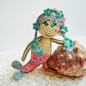 Mermaid Crochet Doll - Mermaid Amigurumi