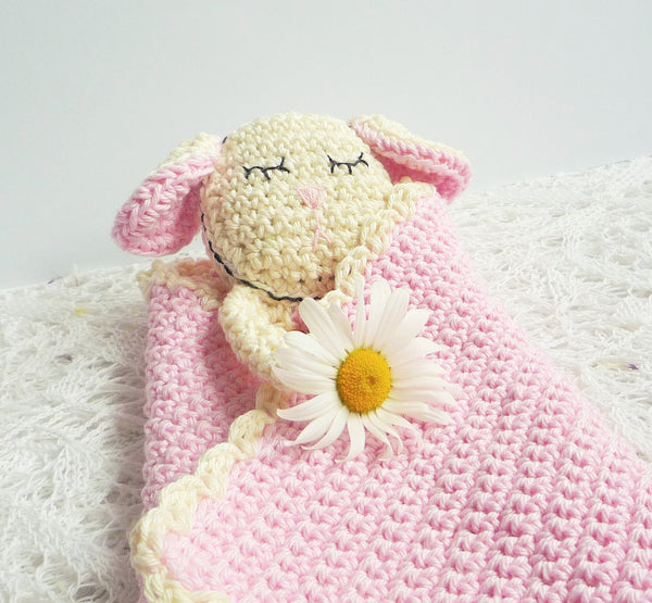 Sheep Baby Blanket - Sheep Baby Lovey