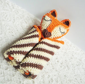 Fox Baby Blanket - Fox Baby Lovey