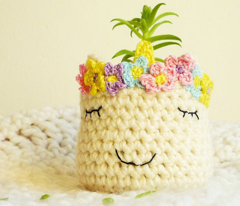 Unicorn Head Planter - Animal Head Planter