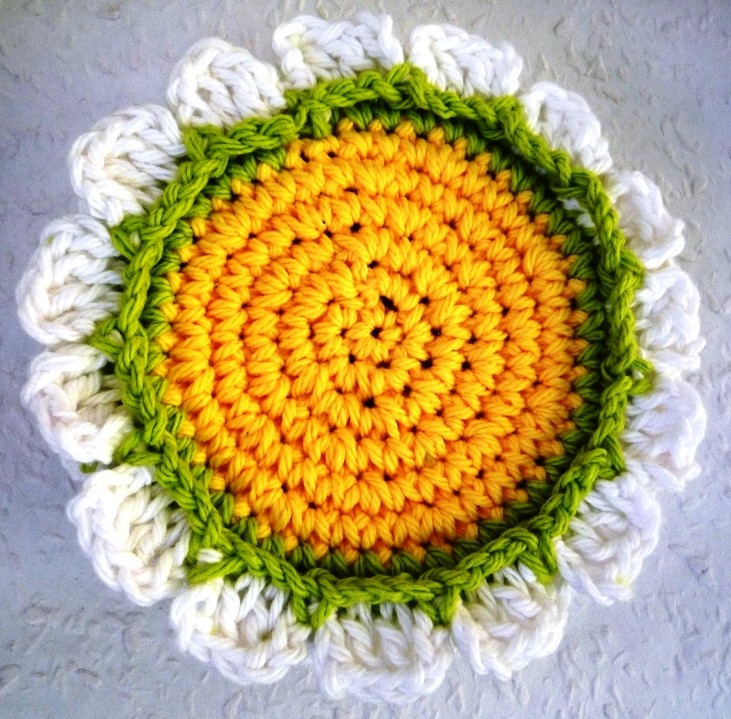 Flower Coasters - Crochet Coasters