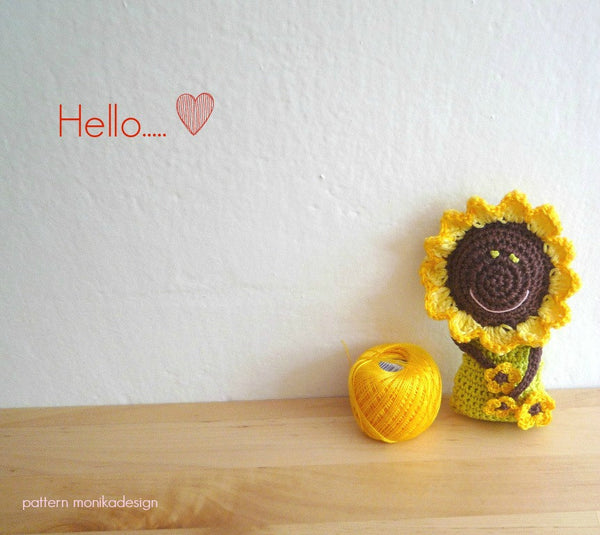 Sunflower Doll Crochet Pattern