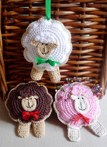 Sheep Ornament - Christmas Ornament