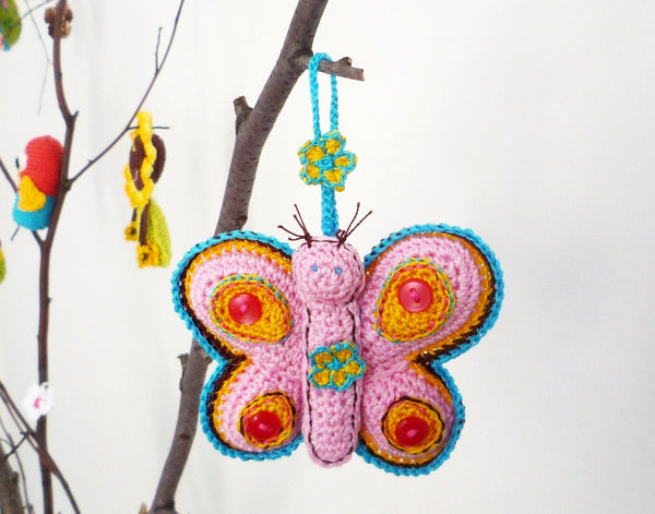 Kids Toy Butterfly - Crochet Butterfly