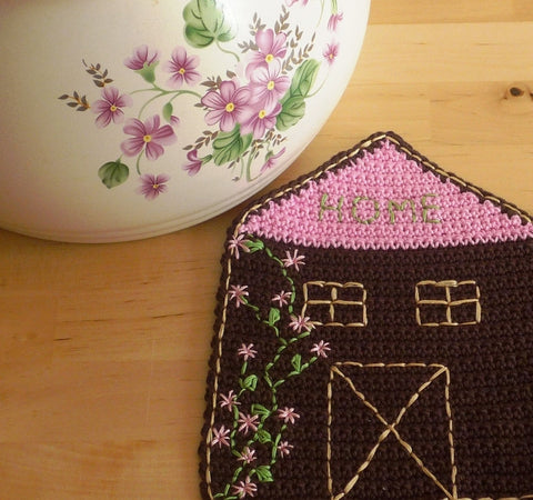 House Coasters - Crochet Coasters