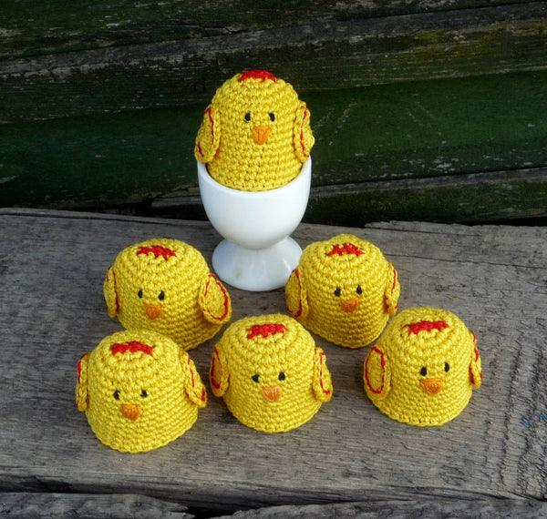 Chicken Egg Cozies MonikaCrochet