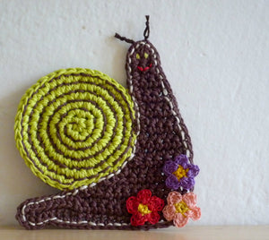 Snail Coasters - Woodland Rustic Decor