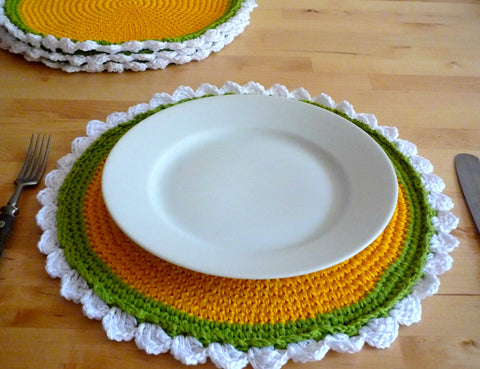 Rustic Place Mats - Camomile Placemats
