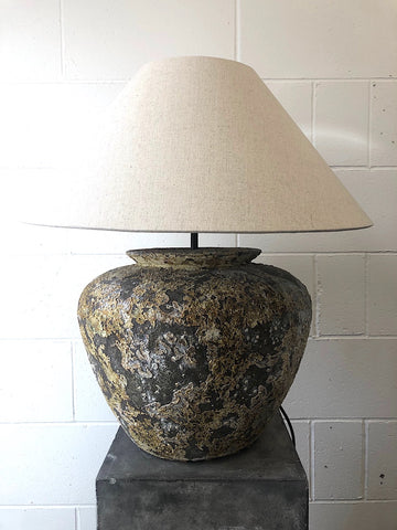 Firepot Table Lamp