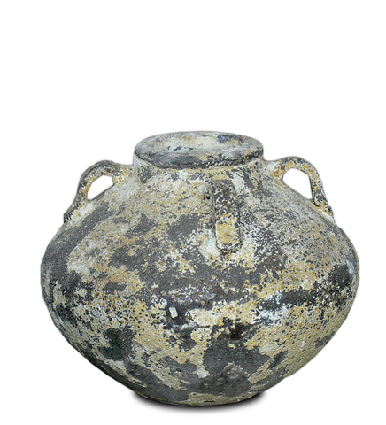 Oil Dipping jar salvage glaze