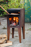 Corten Steel Pizza Oven