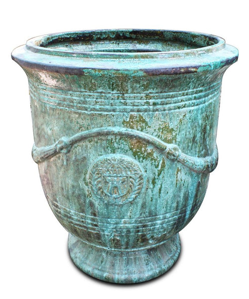 Versailles Planter Copper Green XXL